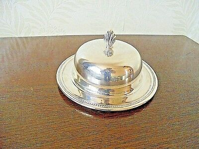 Lovely Silver Plated Butter Dish
