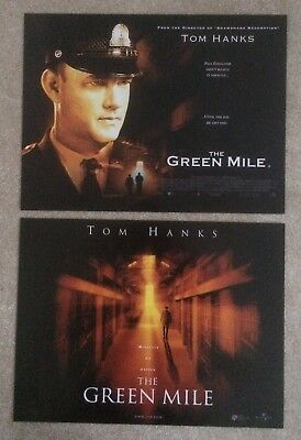 The Green Mile 1999 2x DIFFERENT Small Quad Cinema Posters