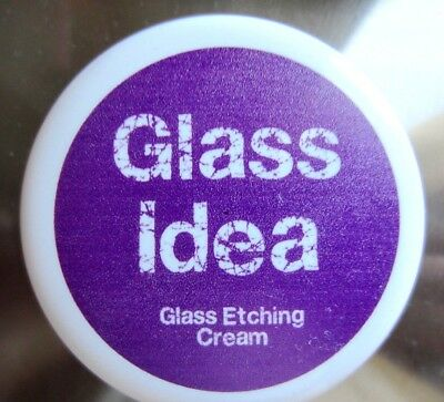 Glass Etching Cream  60gr   --   140gr