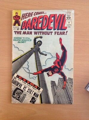 Daredevil Nr. 8 Wally Wood (very Good+)