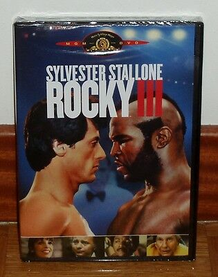 Rocky Iii Dvd New Sealed Drama Sylvester Stallone-1982