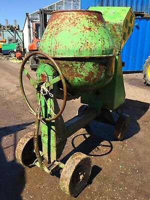 Cement Mixer Single Cylinder Lister Engine Towable Heavy Duty Export Concrete