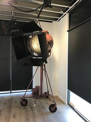 Mole Richardson Studio Big Eye 10k Fresnel Spotlight Ex-Hollywood Studios.