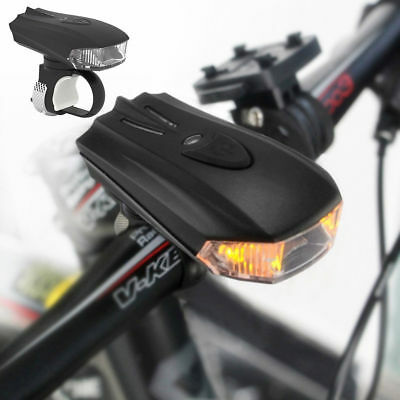 Bicycle Smart Sensor LED Light Front Lamp USB Rechargeable Safety Bike Cycling