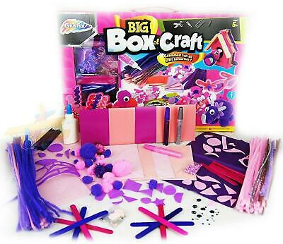 Big Box Of Craft Grafix Big Box Of Craft - Childrens Giant Art Materials Set