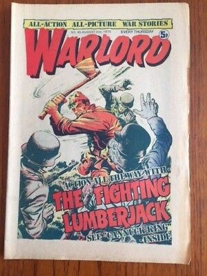 WARLORD 2nd August 1975 - Edition No. 45.