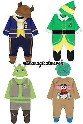 Brand New Baby UNISEX Disney/Character 2 Piece All In One Costume