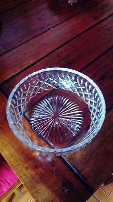 Royal Brierely Crystal Bowl - REDUCED