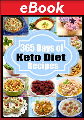 365 Days of Keto Recipes by Sarah Peterson [ electronic book ]