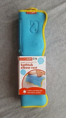 Skip Hop Moby Quick Dry Non-Slip Baby Bathtub Elbow Rest NEW £18