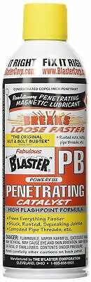Blaster Penetrating Catalyst / Magnetic Lubricant Solvent Spray 11 Oz 16-PB