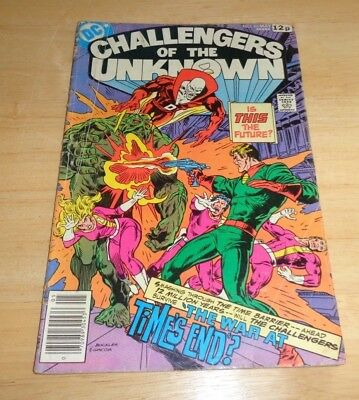 DC Challengers Of The Unknown Comic Vol 17 No 86 April May 1978 VERY RARE