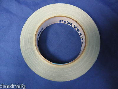 """NEW 8 ROLLS POLYKEN 105C 1"""" x 36yd DOUBLE SIDED CARPET TAPE MADE IN USA"""