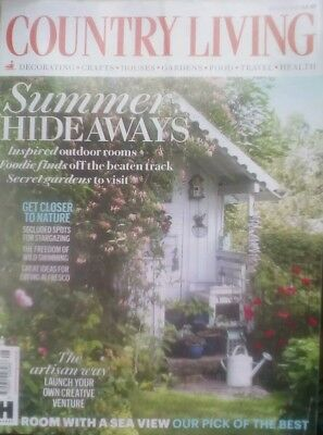 Country Living Magazine August 2018 free post