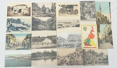 lot de 30 cpa cartes postales afrique aniamtions