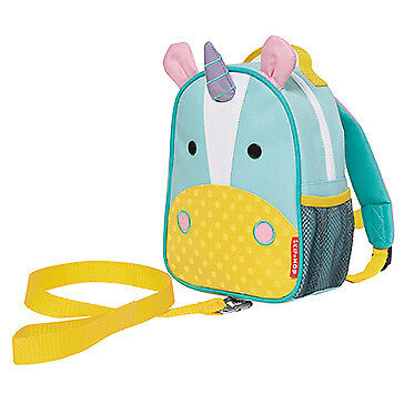 NEW Skip Hop Zoo-Let Mini Backpack With Safety Rein - Unicorn
