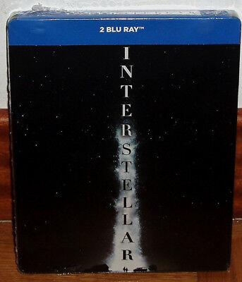 Interstellar Steelbook 2 Blu-Ray New Spanish Latino Science Fiction Action R2
