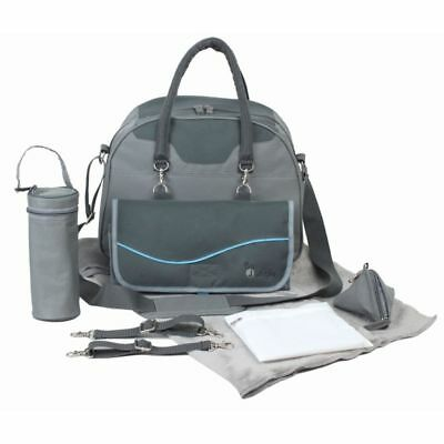 Bo Jungle B-City Baby Nursery Changing Nappy Mommy Diaper Bag Grey B300320