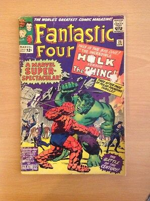 Fantastic Four Nr. 25 (Good+)