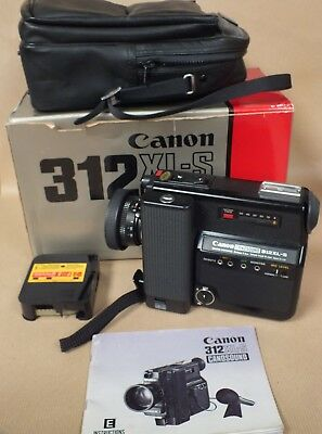 Canon 312 XL-S Canosound Movie Camera