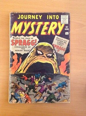 Journey Into Mystery Nr. 68 (fair/Good), Steve Ditko