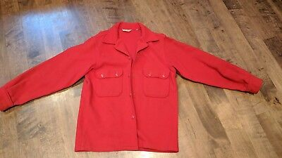 Vintage Official Boy Scouts of America Wool Shirt jacket 40