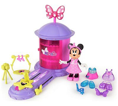 Disney Minnie Mouse Minnie's Magic Turnstyler Girls Childrens Toy Playset New