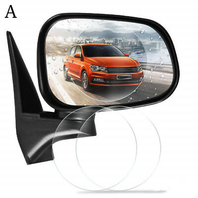 2pcs SUV Nano Car Rainproof Rear View Mirror Waterproof Protective Film Sticker