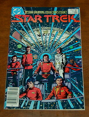 Star Trek DC Comics FEB 1984 1st Star Spanning Collector's Issue #1 FN Condition