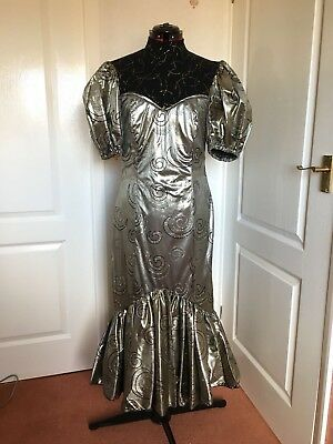Gold & Silver Fairy Costume | Panto, Pantomime, Stage, Theatre, Cabaret