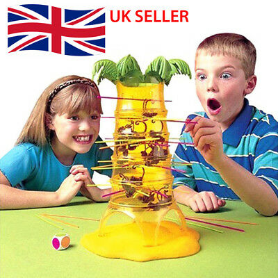 HOT Falling Tumbling Monkey Family Toy Climbing Board Game Kids Adults Gift UK