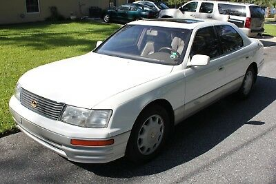 1996 Lexus LS LS400 1996 Lexus LS400 FL car in top condition and accident free. Dealer maintained.