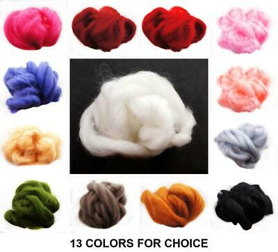 20g 4m Vegan Friendly Acrylic Wool For Needle Felting Spinning Knitting DIY Craf
