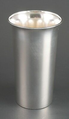 """Antique MFH M. Fred Hirsch 89 Sterling Silver Water Tumbler No Monogram 4 7/8"""""""