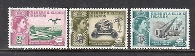 Vg711 Gilbert & Ellice Islands #73-5 Stamps - Mint Og Never Hinged $2.70