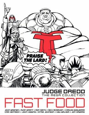 Judge Dredd: Fast Food ***NEW*** 2000AD Hardback ***FREE P&P***