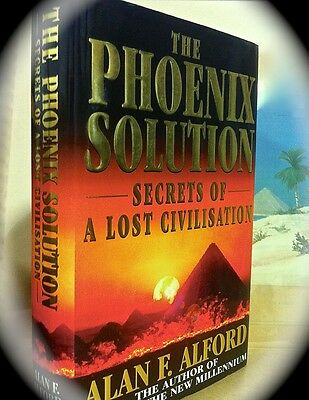 PHOENIX SOLUTION: SECRETS OF A LOST CIVILIZATION ~ 1ST 1998 HC w/ D/J ~ ATLANTIS