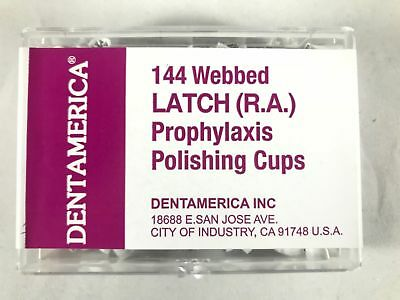 Dental Prophy Prophylaxis Polishing Cups Webbed Pcs -Dentamerica