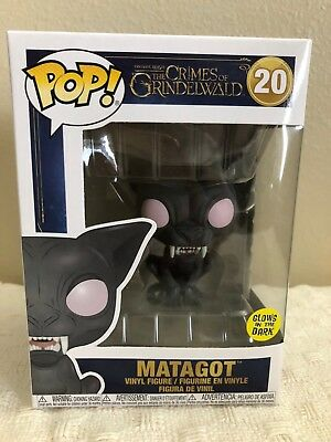 Funko Pop! Fantastic Beasts MATAGOT Crimes Of Grindelwald Glow In The Dark New