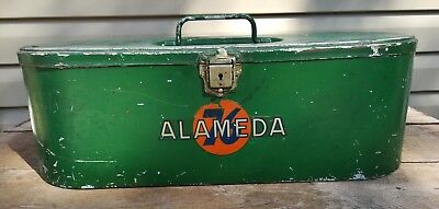 Vintage Union 76 Tool Gas Station Advertising Sign Metal Box Gas Oil Alameda
