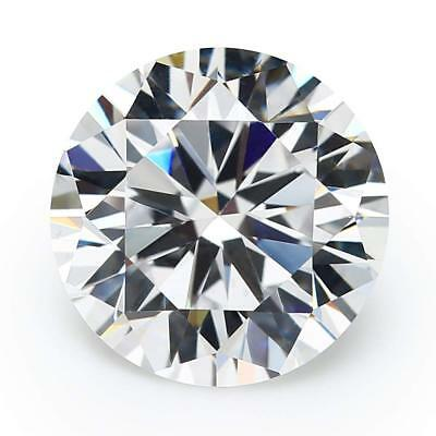 10mm Round Cubic Zirconia CZ Loose Gemstone for Jewelry 6.50 ct AA+++ Quality