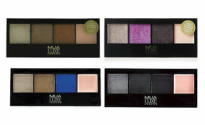 New MUA Make Up Academy Luxe Metallic Eye Eyeshadow Palette BUY 1 GET 1 20% OFF