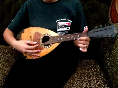 1930s Soviet RUSSIAN USSR Stringed Musical Instrument MANDOLIN/ MANDOLA Мандолин