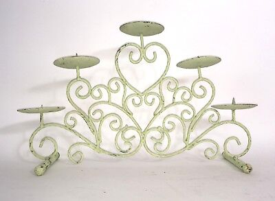 Cast Iron Antique Candle Holder