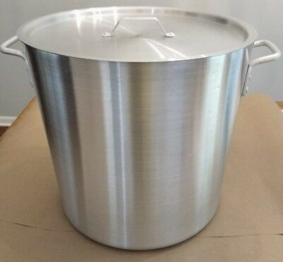 Thunder Group ALSKSP007 40qt Heavy Duty Aluminum Stock Pot with Lid