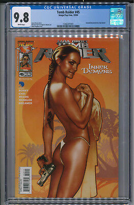 Tomb Raider #45 Adam Hughes CGC 9.8 Great Cover!