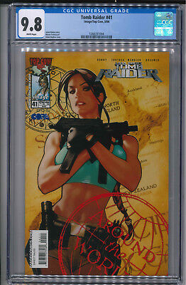 Tomb Raider #41 Adam Hughes Cover CGC 9.8 Image Top Cow