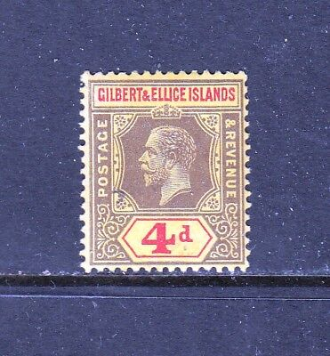 Vg726 Gilbert & Ellice Islands #19 Stamps - Mint Og Lightly Hinged