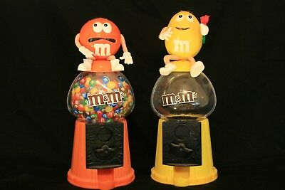 2 M&M's Toy Candy Dispensers