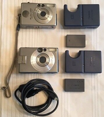 Canon PowerShot Digital S330 and Canon PowerShot S200 ELPH Charger/Battery LOOK